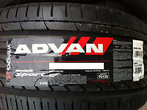 4 x BRAND NEW 295/25/22 YOKOHAMA summer tires %100 new