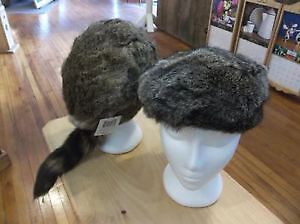 Racoon Hat With Tail