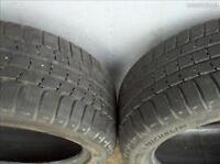 4 x 245/45/18 MICHELIN alpin PA2 WINTER SNOW tires %75 tread lef