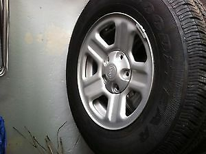 225 / 75 /16 Goodyear tires and wheels with TPMS