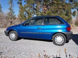 1989-2001 Geo Metro Coupe (2 door)
