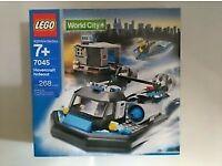 LEGO World City 7045 : Hovercraft.