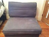 Chair. Blue.