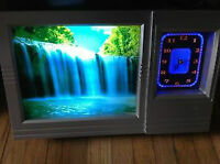 Decorative Clock with Waterfall and Nature Sounds great for yoga