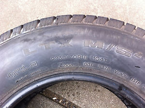 4 Michelin SUMMER Tires 235 70 R16 NEGO!! West Island Greater Montréal image 4