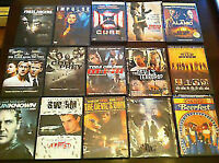 15 western and thrillers - DVDs
