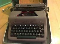 Machine à écrire