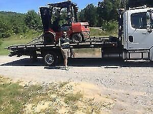 Flatbed Service Moving forklift,Skid steer,Scissor lift,Car ETC