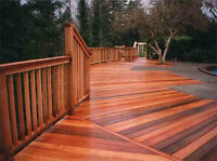 STAIN AND PROTECT YOUR OUTDOOR DECK