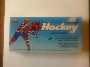 JEU DE CARTES HOCKEY  CANADIEN / NORDIQUE (1985)