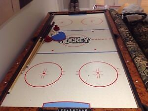 Air Hockey and Pool Table
