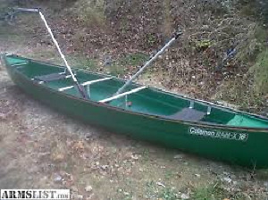 Canoe, Trailer, Must Go this Week-end.