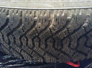 TWO GOODYEAR P 155 80 R 13'' RADIALS