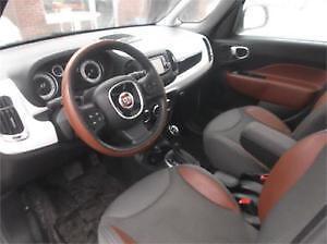 2014 Fiat 500 L cuir Familiale Mags+4 Roues D'hiver