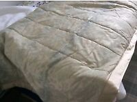 Dorma duck egg blue bedding and curtains