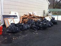 Ramassage de débris après construction ou renovation