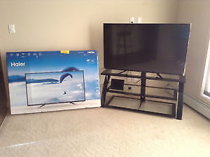 """New in box 55"""" (inch) Haier Led TV & Wall Mount"""