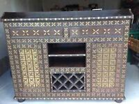 Antique Indian Display and Wine Cabinet