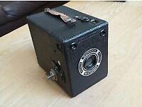 Warwick No.2 Box Camera (Circa 1930) Vintage & Rare