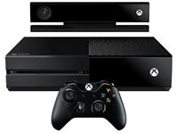 XBOX ONE 500 GIG WITH KINECT AND 2 FORZA GAMES