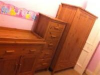 Mothercare Wardrobe and Baby Chnager/Cupboard £50 ono. for sale