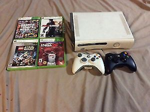 selling Xbox 360 with 4 games