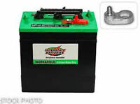 SET OF 6  USED INTERSTATE GOLF CART BATTERY`S 6 VOLT