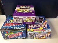 Buying Your Unwanted Cheap Wax Hockey Sports Cards Boxes/Autos