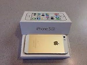 iPhone 5S Gold 16gb Like New Unlocked