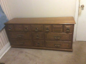 Wanted large wooden dressers London Ontario image 2