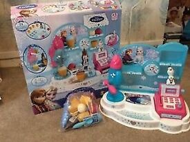 Disney frozen ice cream set