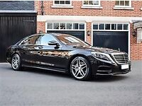 Professional chauffeur with Mercedes S class , airport transfers, business trips