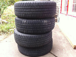 4 Michelin SUMMER Tires 235 70 R16 NEGO!! West Island Greater Montréal image 1