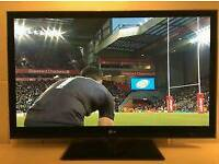 50 inch tv 3d LG50PX990 full hd with dvd