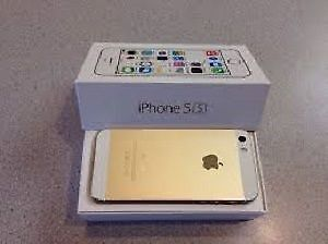 iPhone 5s gold, unlocked, sale by owner