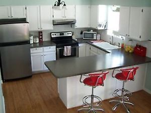 KITCHEN CABINET REFINISHING 1/4 COST OF BUYING NEW London Ontario image 2