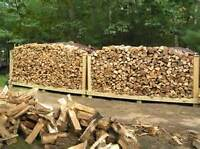 2 face cords of Split Dried Firewood for $200 FREE DELIVERY