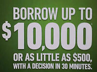 $500.00 - $10,000 Personal Loans - GET FUNDED TODAY