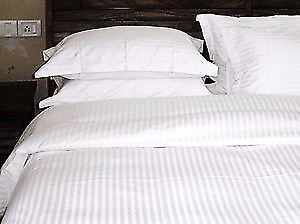 Bed sheets & Towels on sale for hotel, clinics and spa White