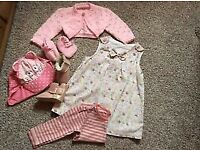 Baby girl clothes 6-12months
