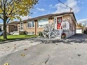 3+2 Bedroom Semi-Detached Bungalow In Oshawa