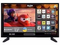 """Great condition 32"""" BUSH LED SMART TV hd ready freeview inbuilt"""