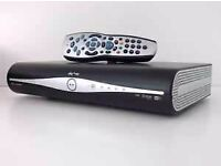 Sky plus hd box with remote
