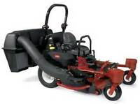 Looking for a Toro Z Master triple bagger with vacuum