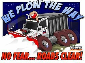 Snow plowing, Great rates and quality service! London Ontario image 1