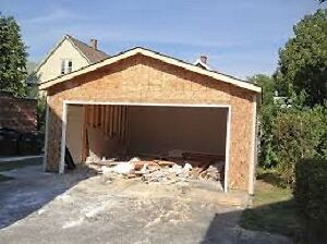 GARAGE; NEW, RENOVATION, ROOF, SIDING... General Contractor