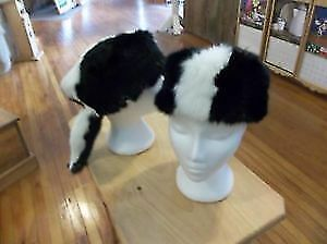 Skunk Like Fur Hat