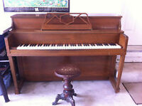 CLASSIC UPRIGHT/VERTICAL PIANO - GREAT PRICE!