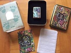 Limited Edition Mysteries of Forest, Cub Zippo Lighter Collectors Edition