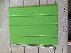 Green stick on cover iPad 3